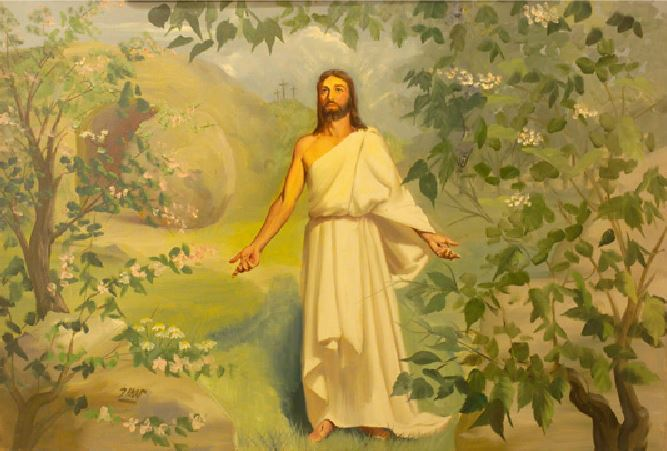 The Risen Christ by Peter Darro