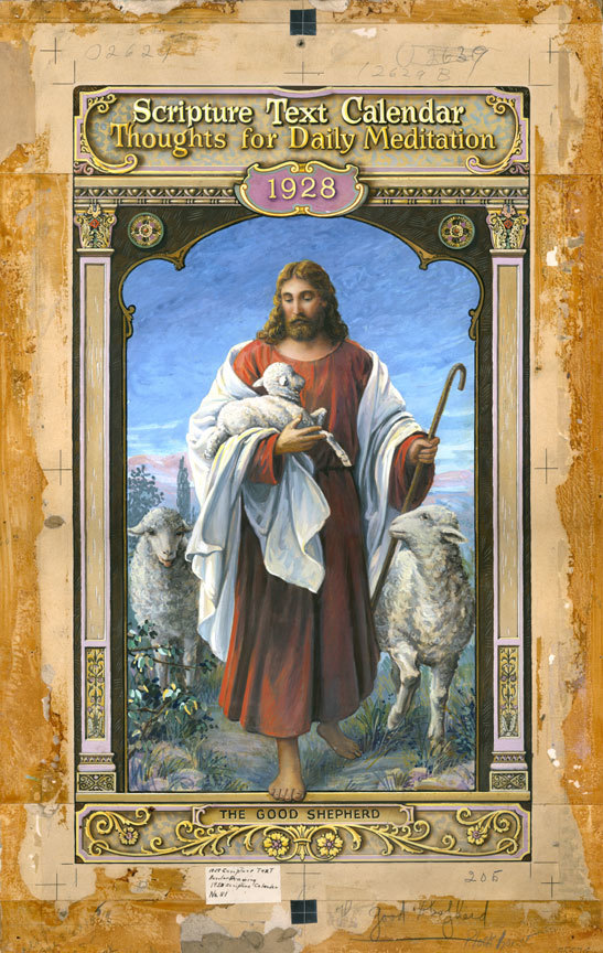 Scripture Text Calendar - The Good Shepherd