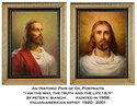 Oil Portraits of Christ by Peter V. Bianchi